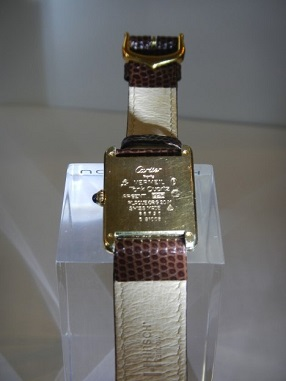 Cartier tank du Must - SOLD